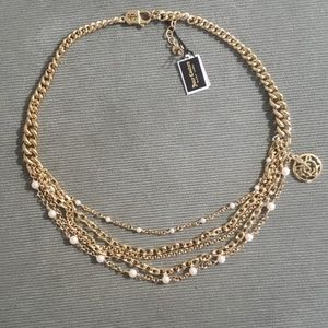 Juicy Couture layered chain necklace